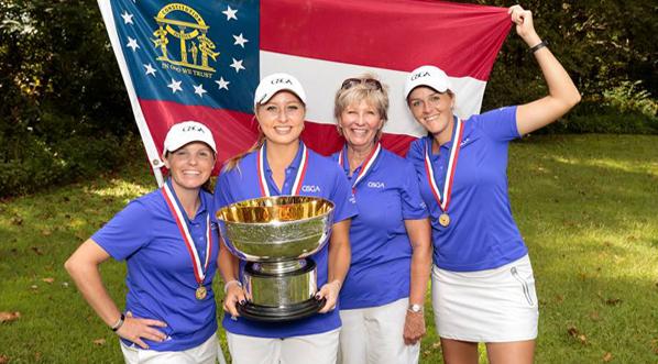 Georgia Wins Fourth USGA Women's State Team Championship!