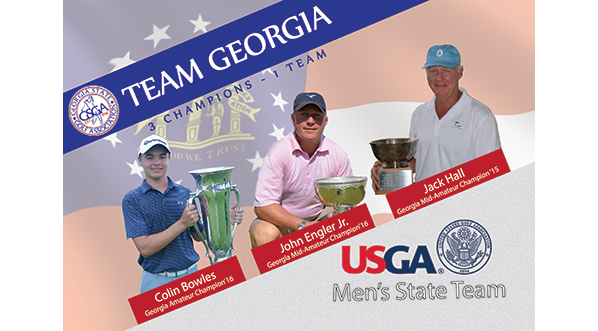 #TeamGeorgia Announced for USGA Men's State Team!