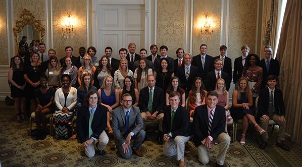 The GSGA Foundation hosts annual Scholars Luncheon