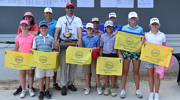 South Section wins Georgia Junior Challenge Match in Valdosta