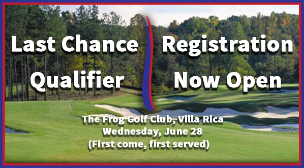 Last Chance Qualifier for the Georgia Amateur Championship!