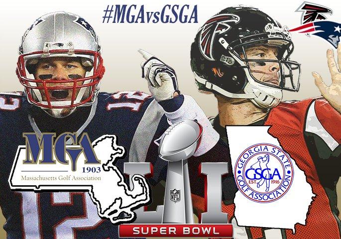 Friendly Super Bowl wager between GSGA and MGA! #MGAvsGSGA