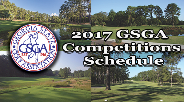 2017 GSGA Competitions Schedule
